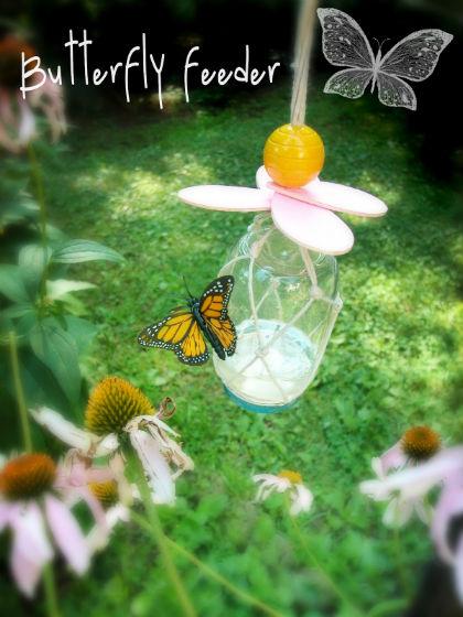Vlinders voeren