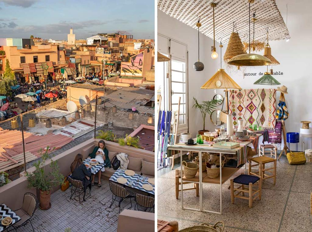 Marrakech vtwonen citytrip dakterras en tuin