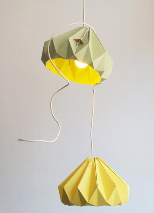 papieren lamp