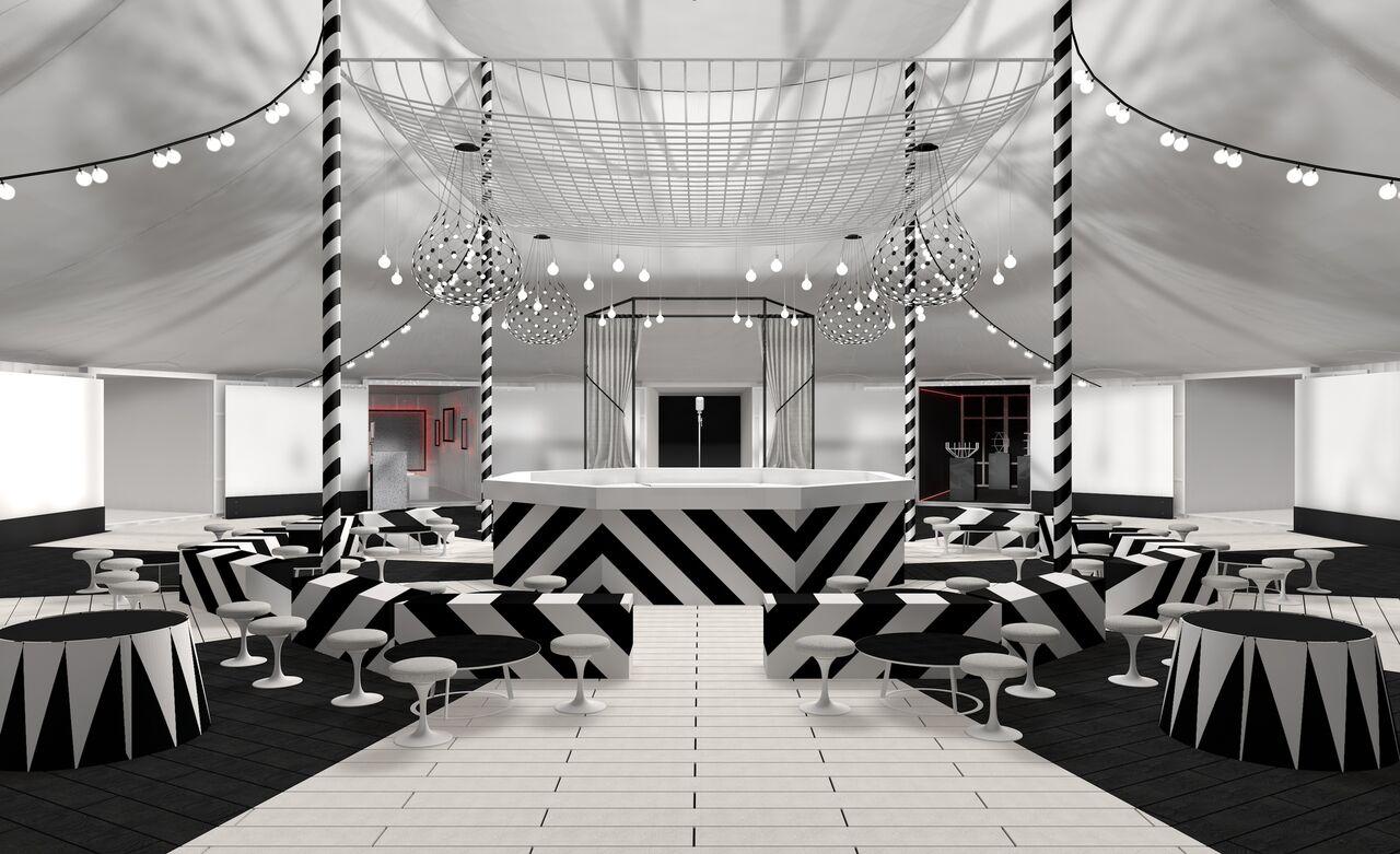 interieur - the circus