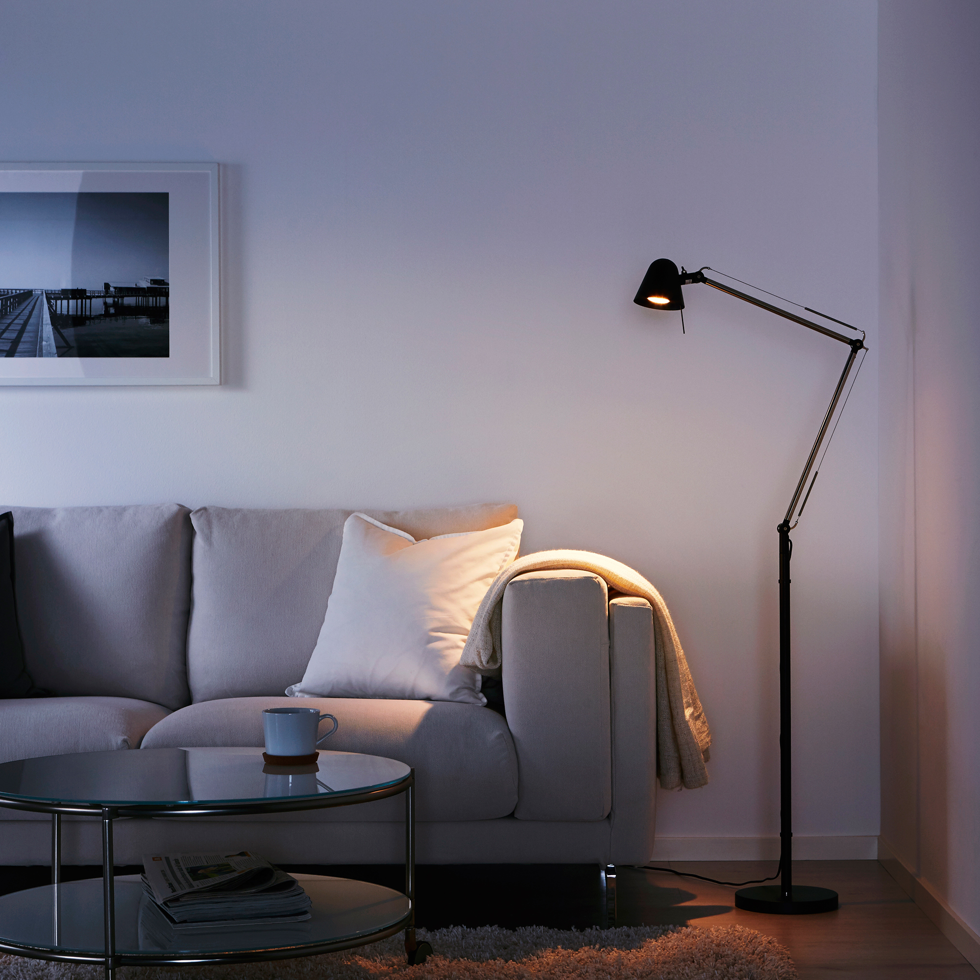 Ikea led lamp Uppbo