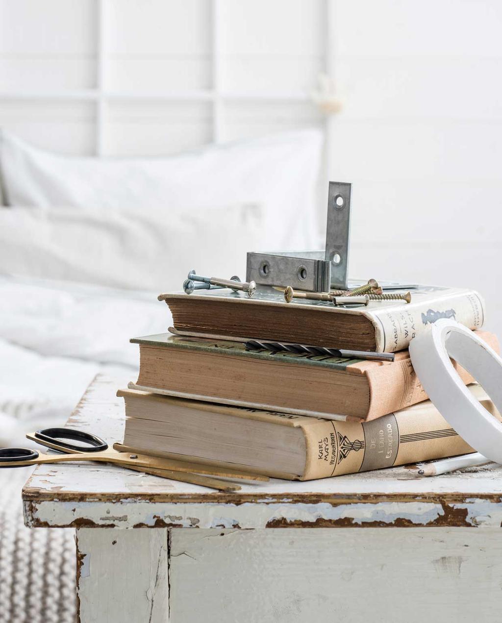 vtwonen 13-2019 | DIY zwevende boekenplank dit heb je nodig