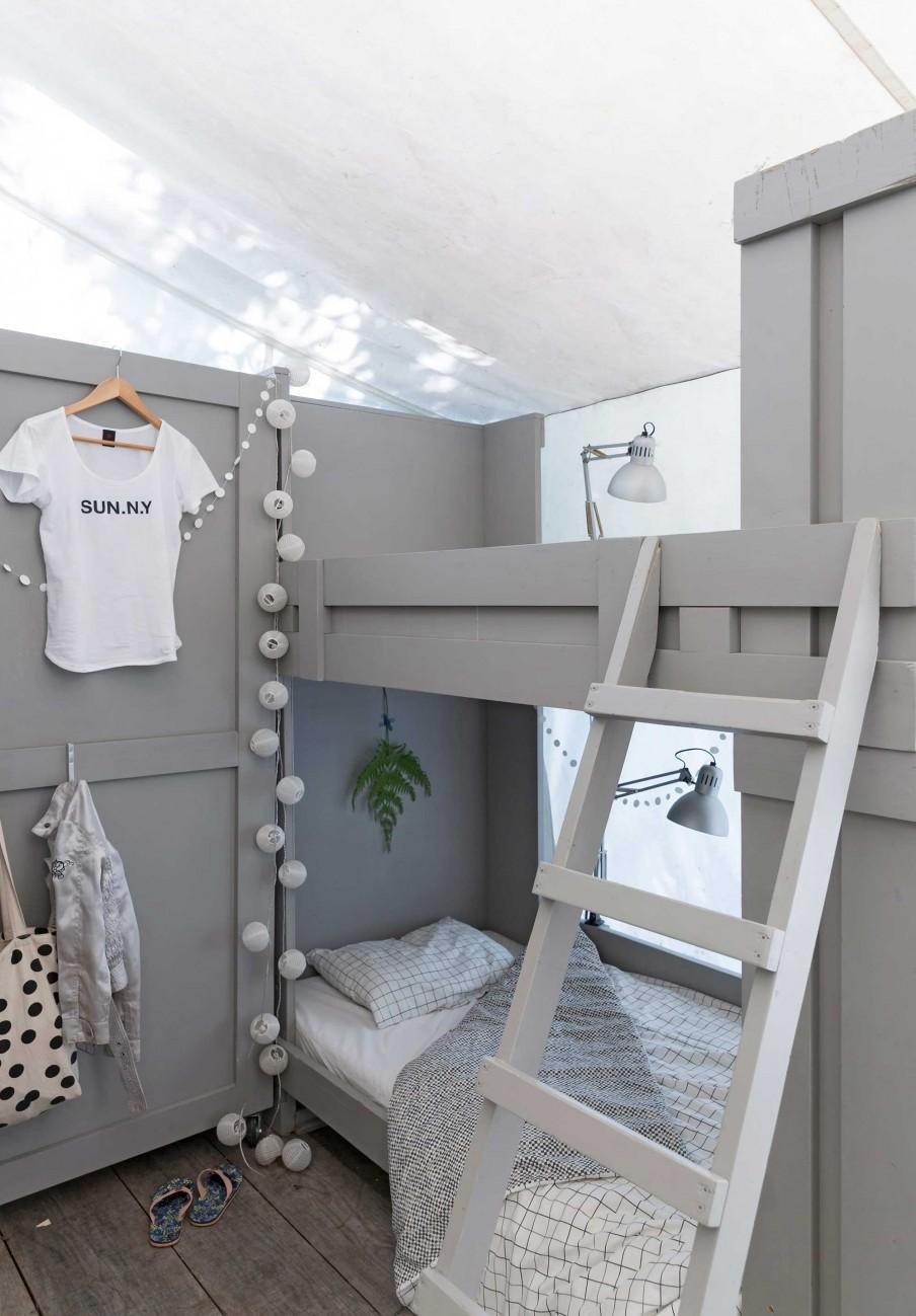 chambre enfants lits superposes