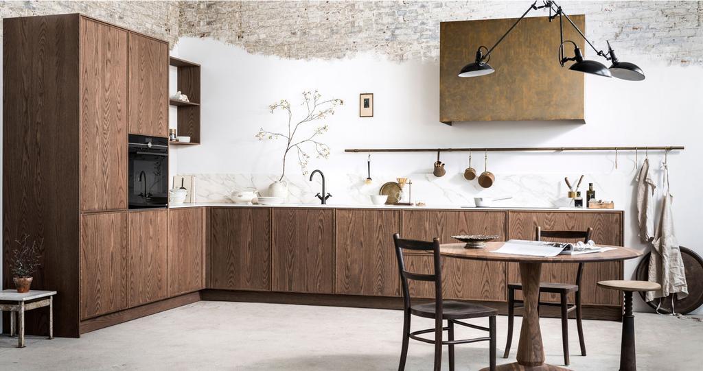 keukentrend bruine keuken