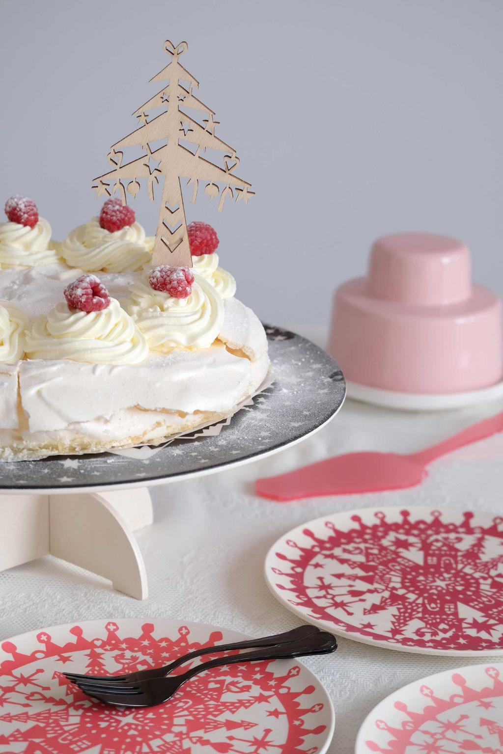 Kerstservies PRCHTG taart