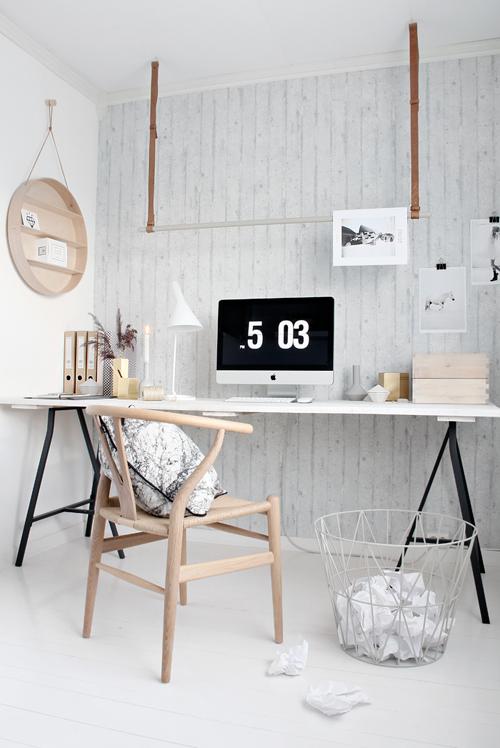 werkkamer My Scandinavian home