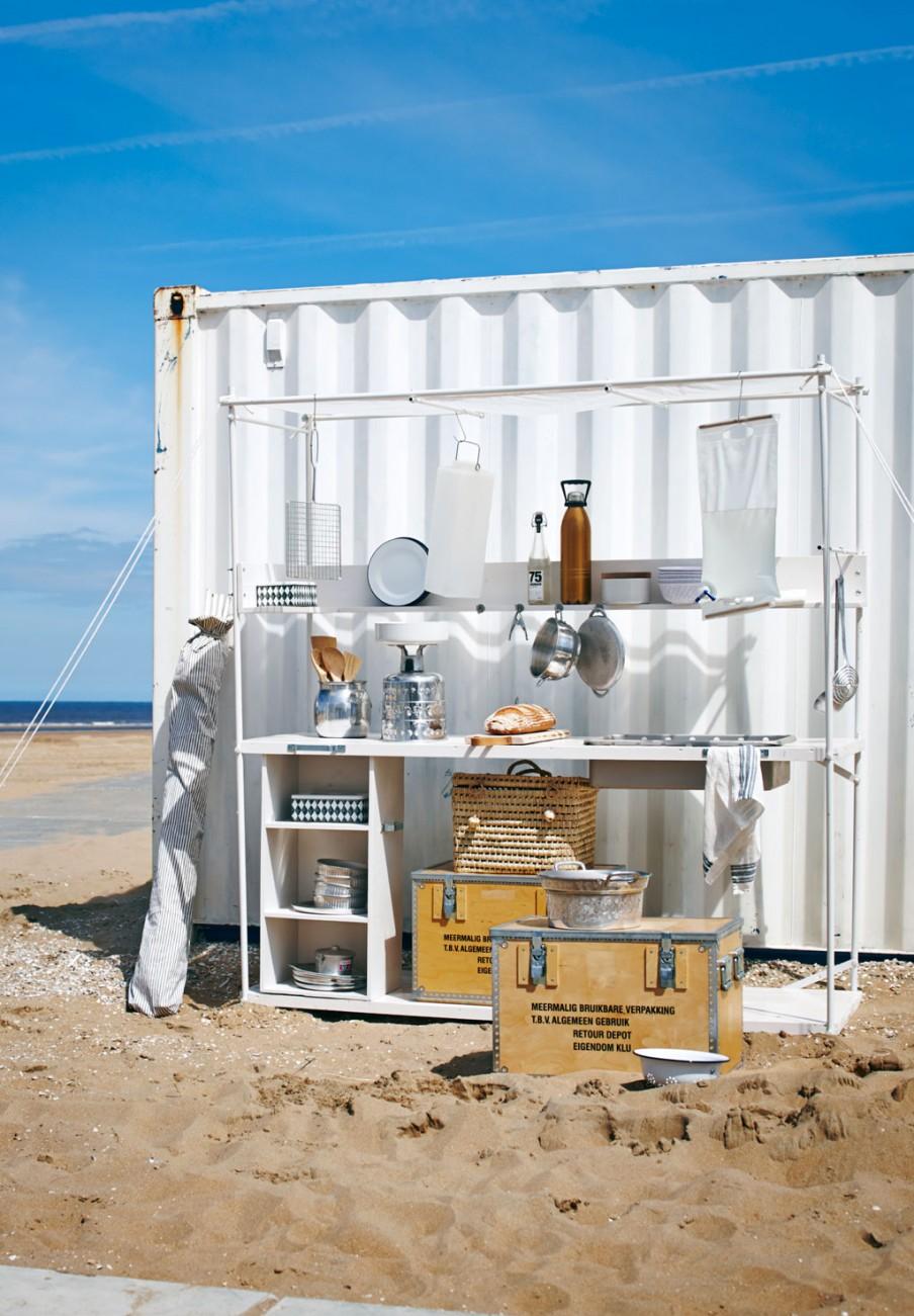 cuisine exterieure plage