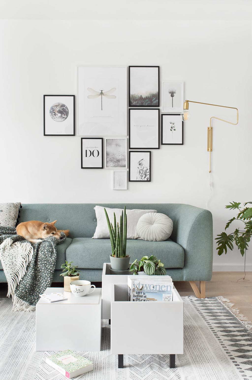 IKEA hack: multifunctionele salontafel, plantenbak en voetenbank door blogger Tanja van Hoogdalem