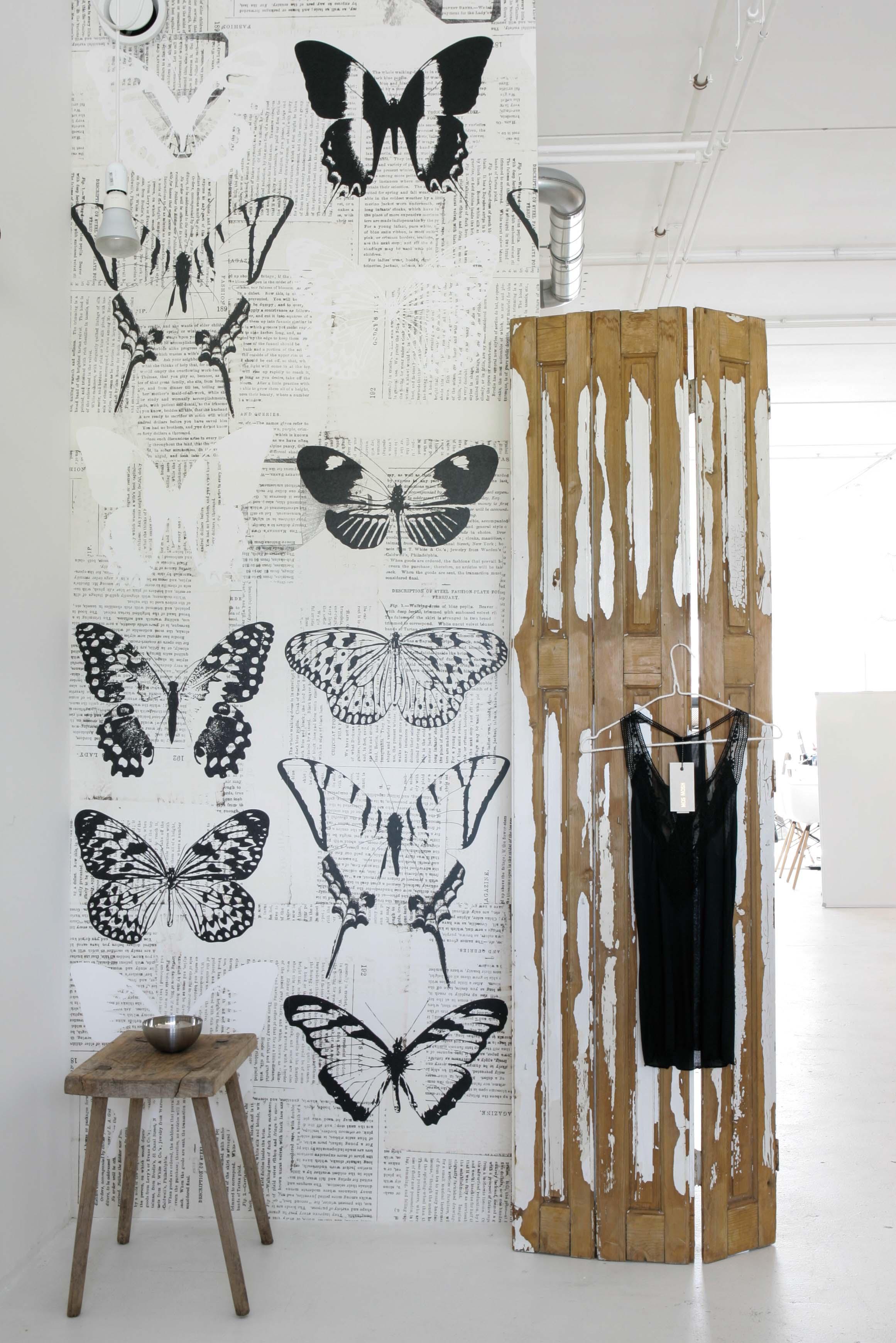 bijzonder behang vlinderbehang