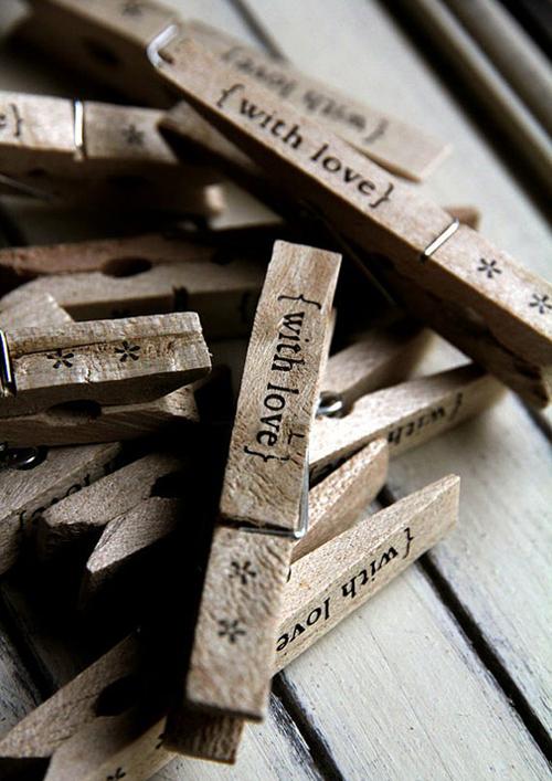 houten knijpers