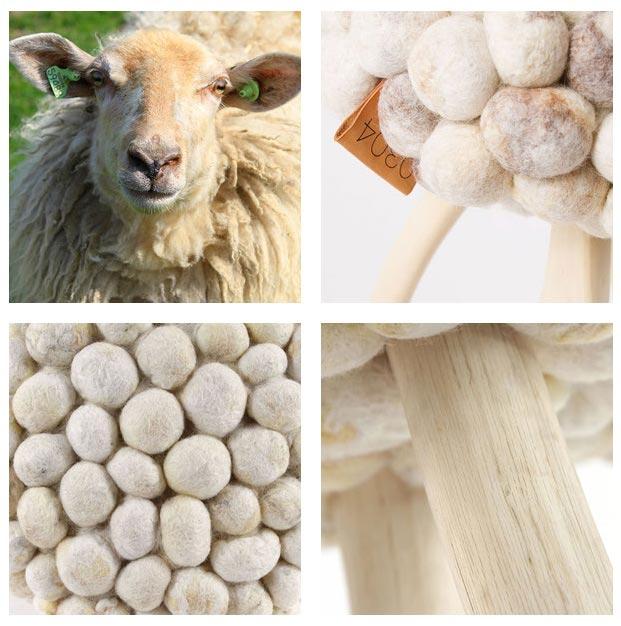 krukjes met wol