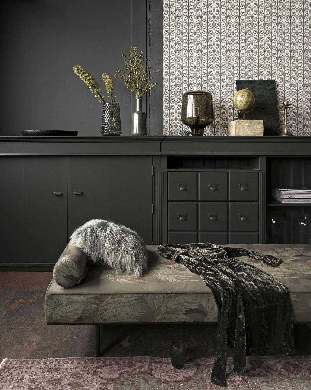 Bank - Vloerkleed - Dressoir