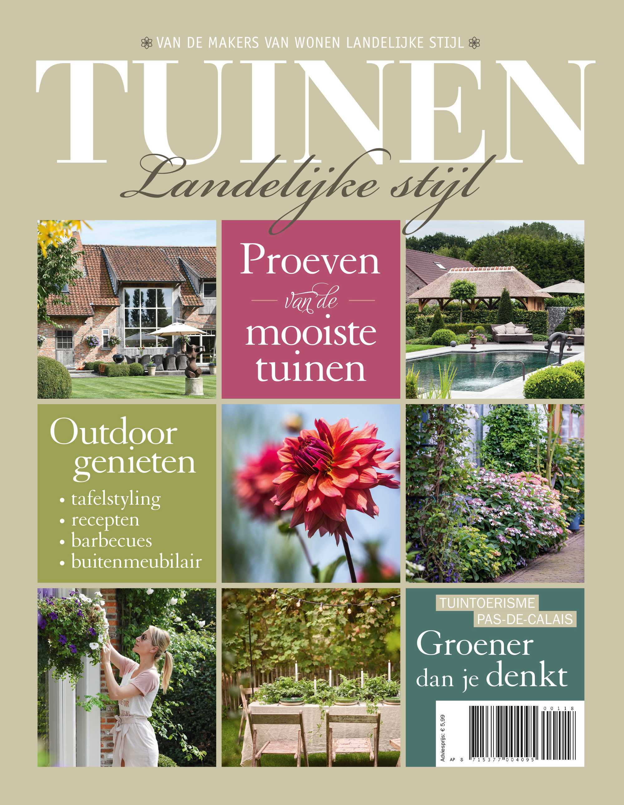 tuinen landelijke stijl 0118 cover NL