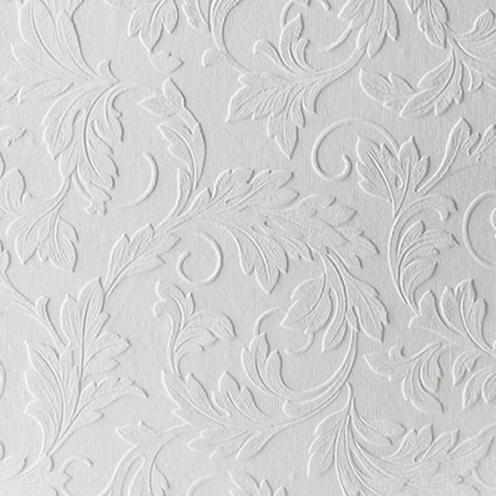 vinylbehang wit bloemen motief