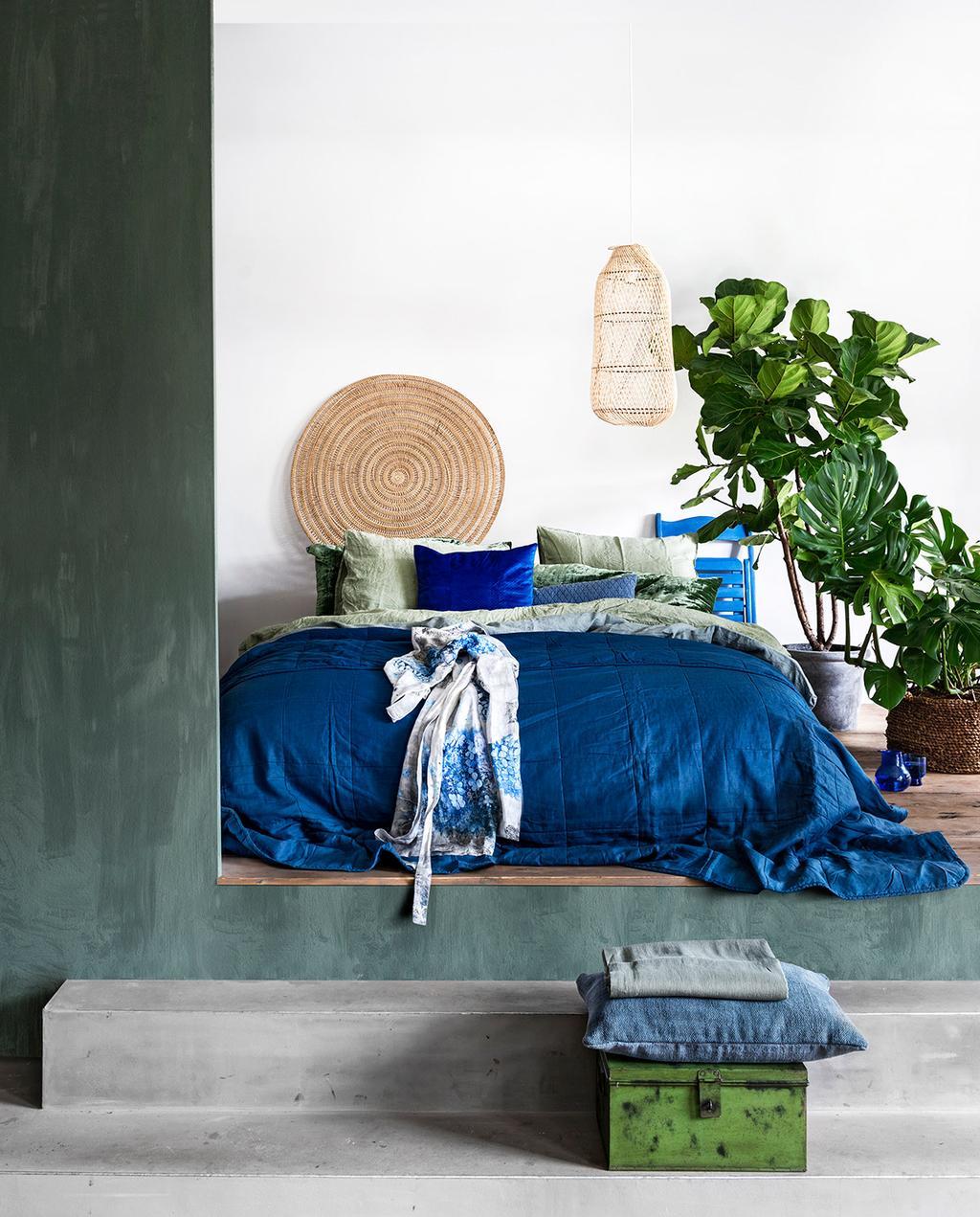 vtwonen styling binnenplanten slaapkamer