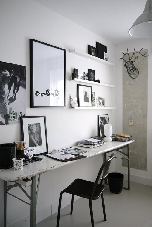 zwart-wit Vosgesparis