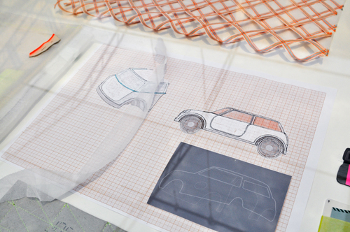 Scholten & Baijings voor Mini - Meubelbeurs Milaan 2012