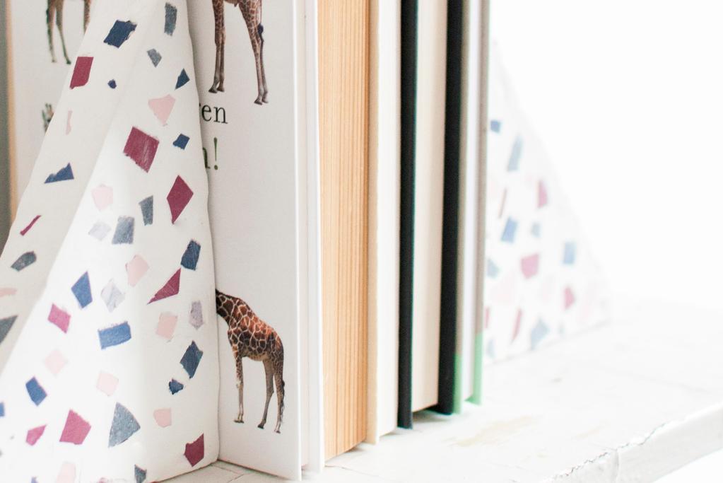 DIY: terrazzo boekensteunen