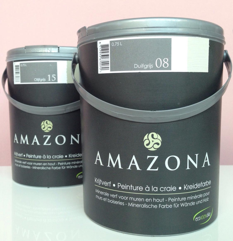 Amazona verf