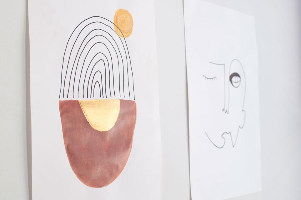 Zolea maakt DIY voor zelfgemaakte posters voor in je interieur.