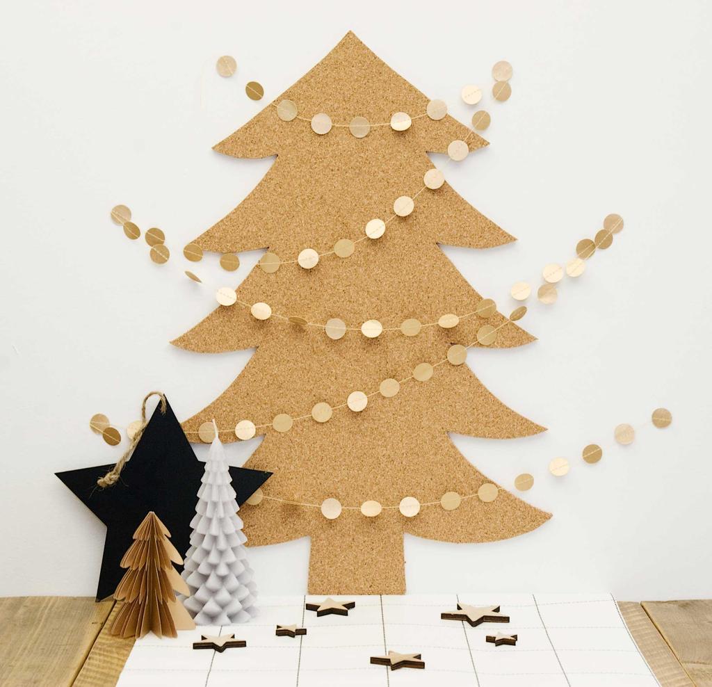 gouden kerst feestkalender