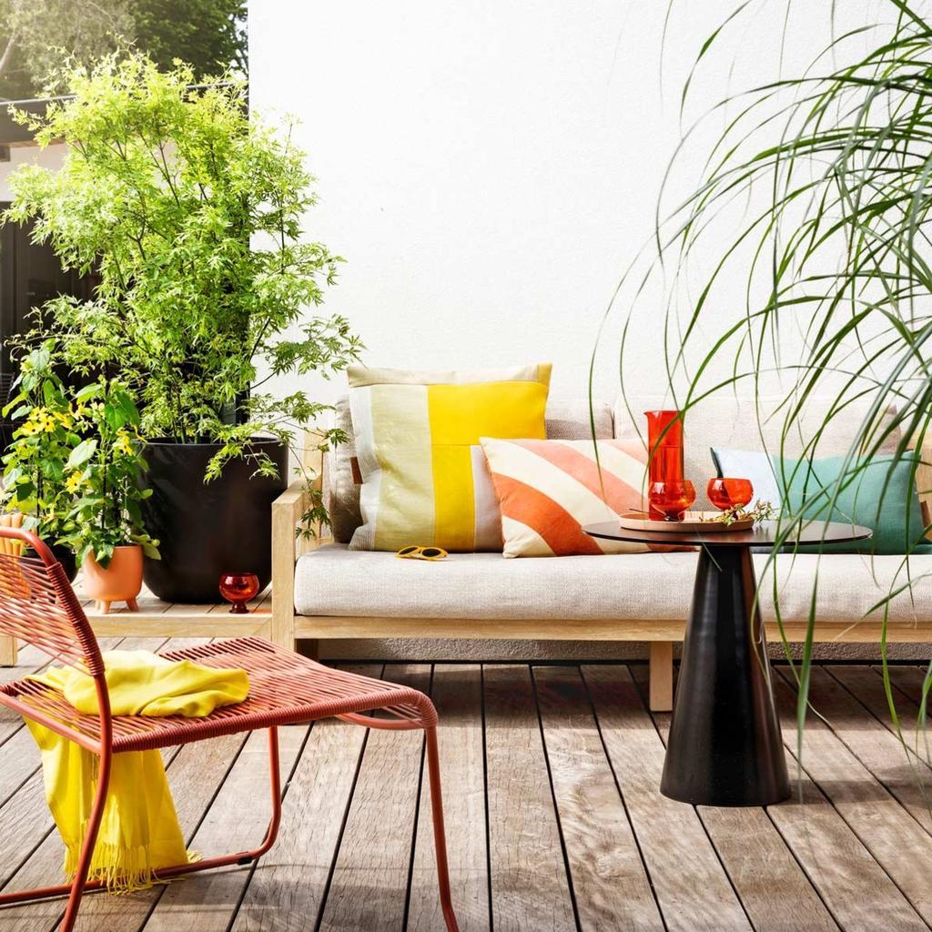 planten op het balkon | kleur in de tuin
