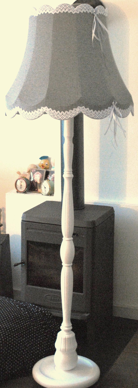 Handgemaakte vloerlamp