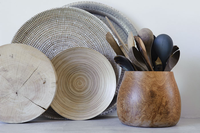 Keukenspullen van Indiaas materiaal