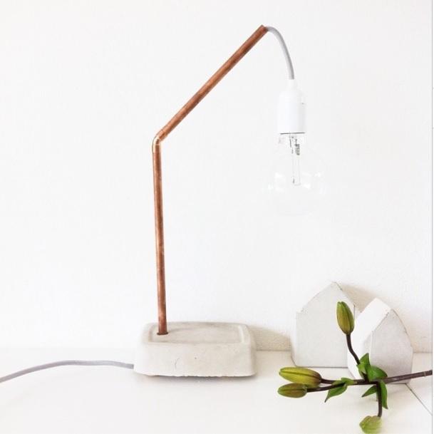 lampje van koper
