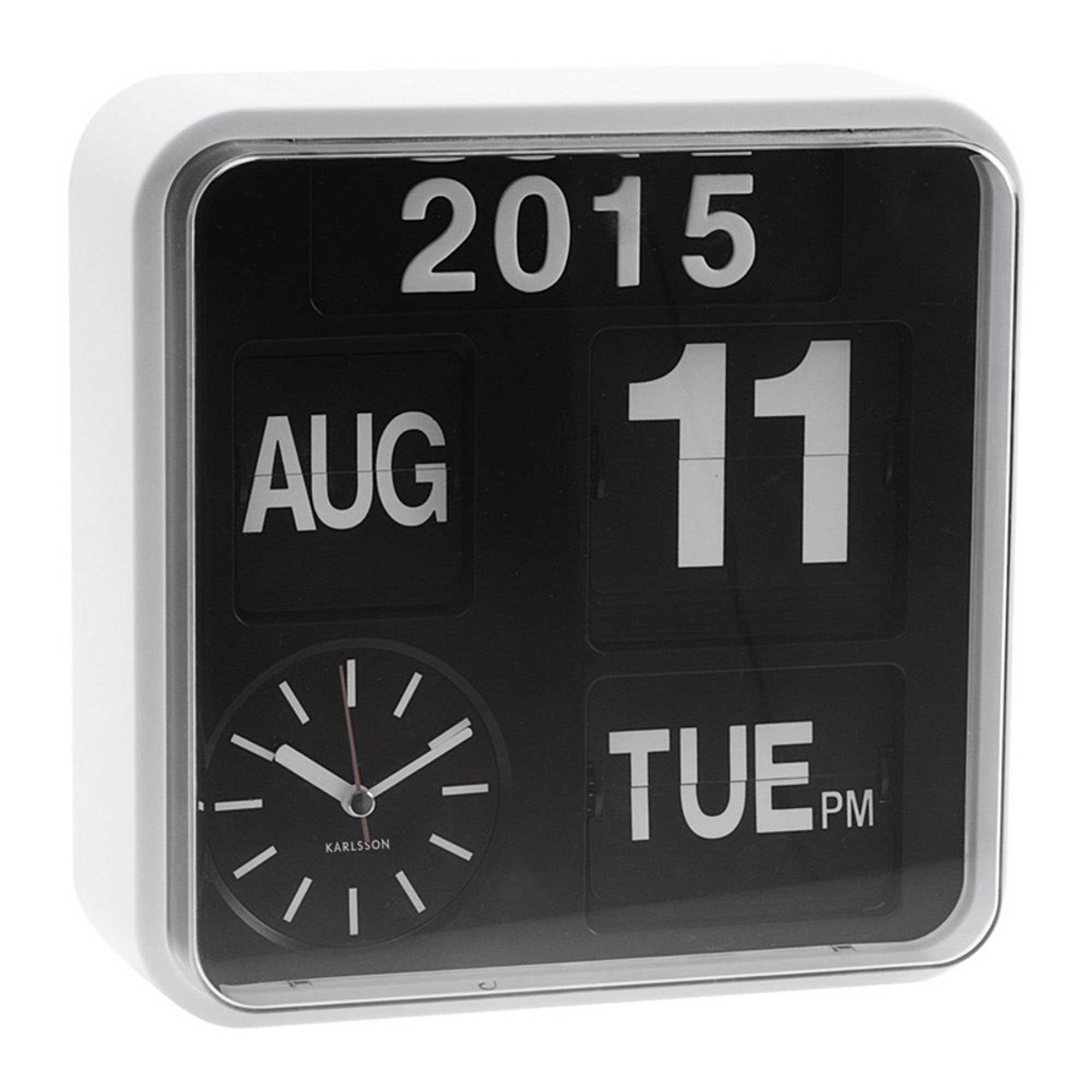 Flip kalender klok