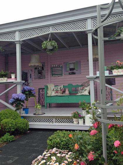 engelse tuin - romantische cottage tuin