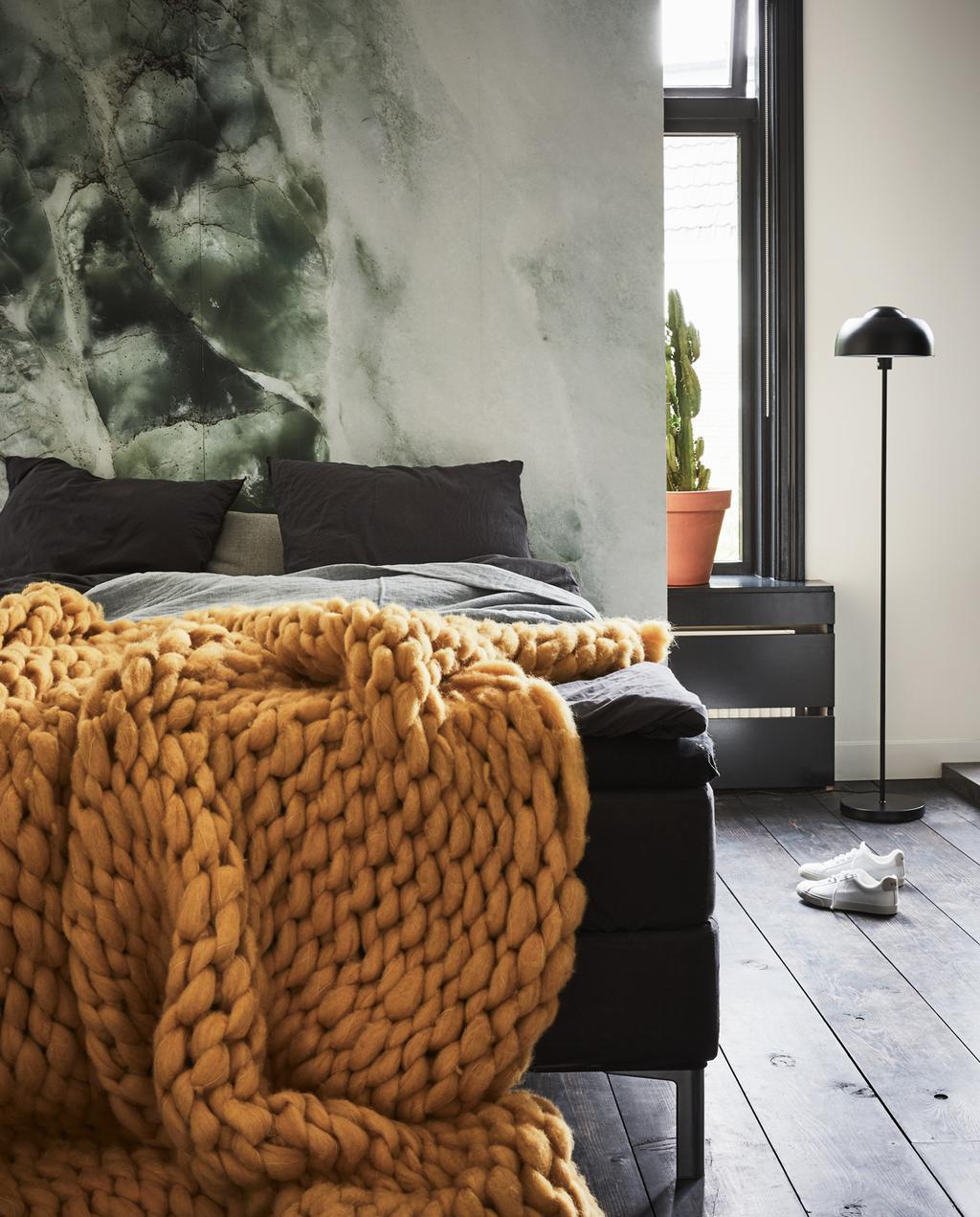 vtwonen 13-2019 | styling marmer slaapkamer