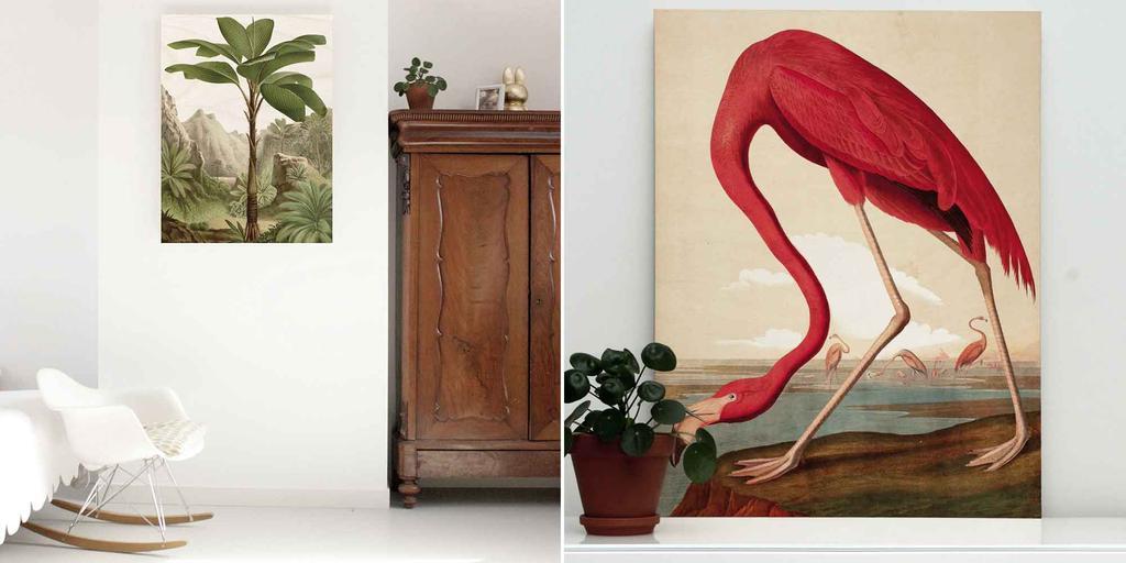 Lookbook KEK Amsterdam - Houten prints - vtwonen