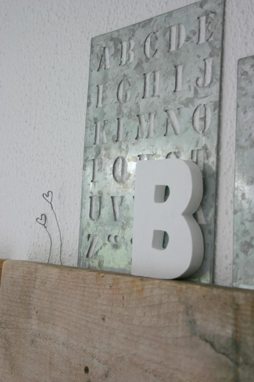 letter decoratie