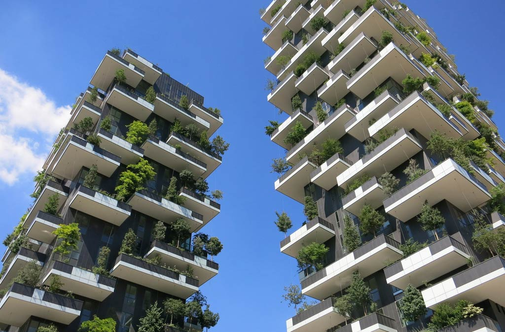 Urban green: bosco verticale