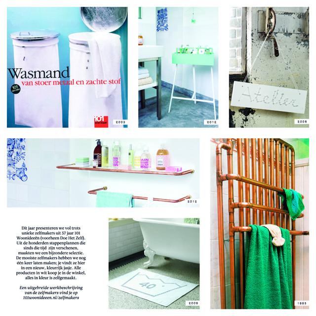 Zelfmaakideeën voor de badkamer