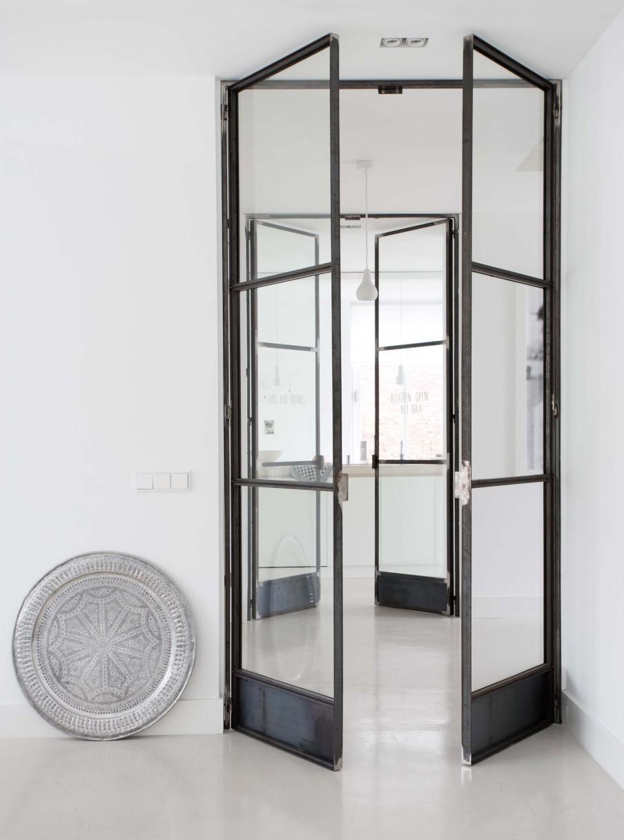 doubles portes metal