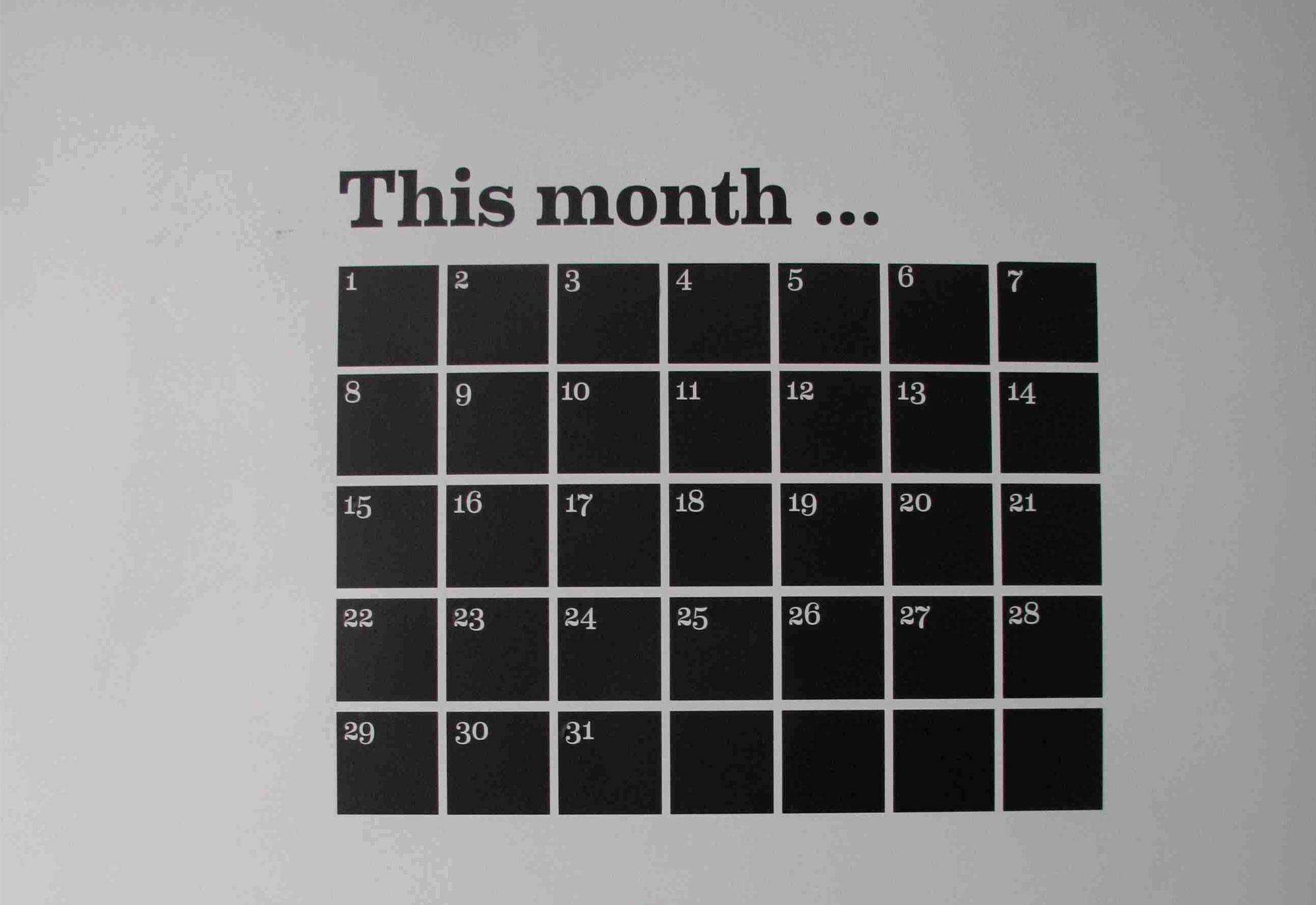 9x kalenders - Ferm Living