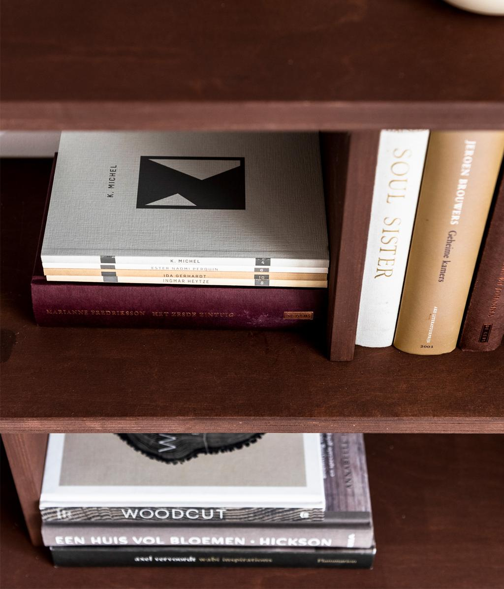 DIY open wandkast | boeken | vtwonen 11-2020