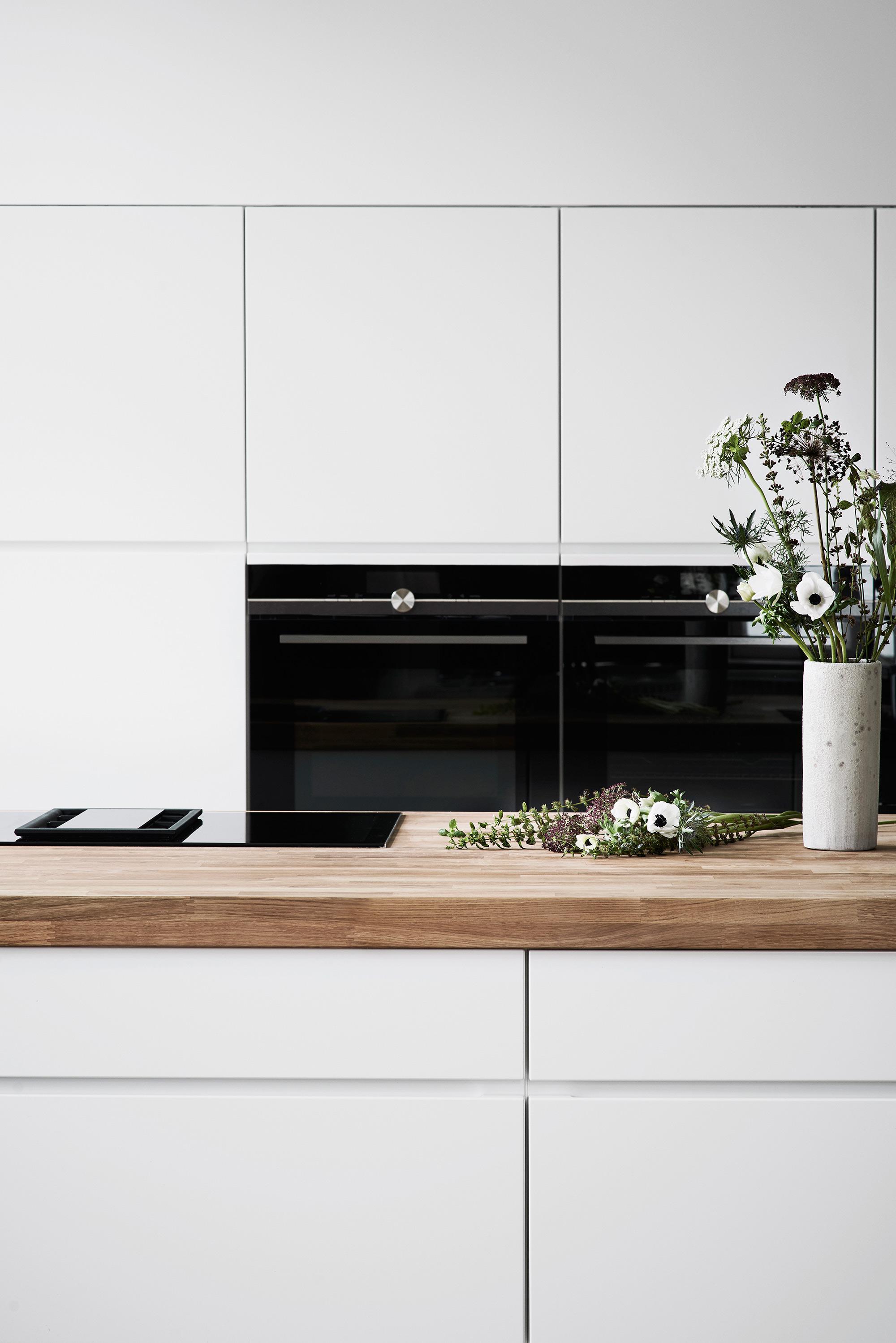 Keukenblad van hout