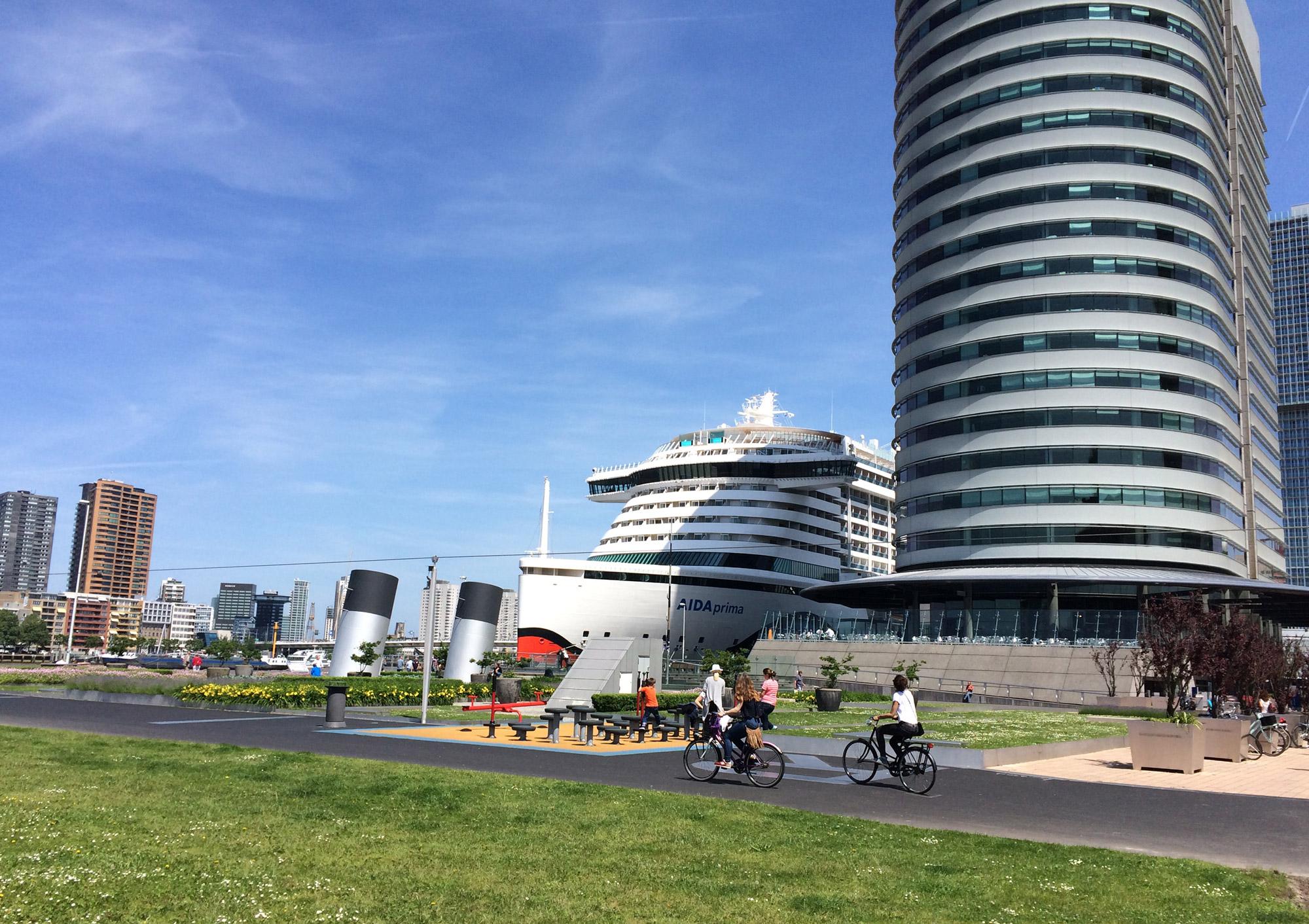 fietstour door rotterdam