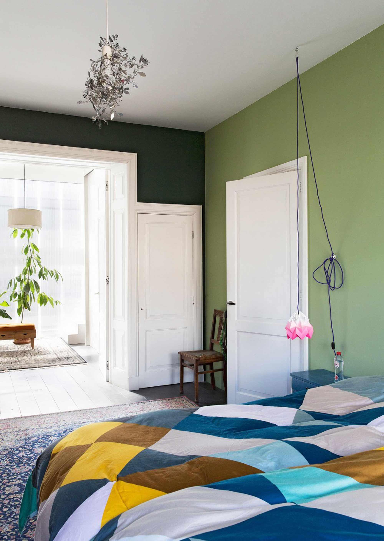 slaapkamer bohemien flamboyant