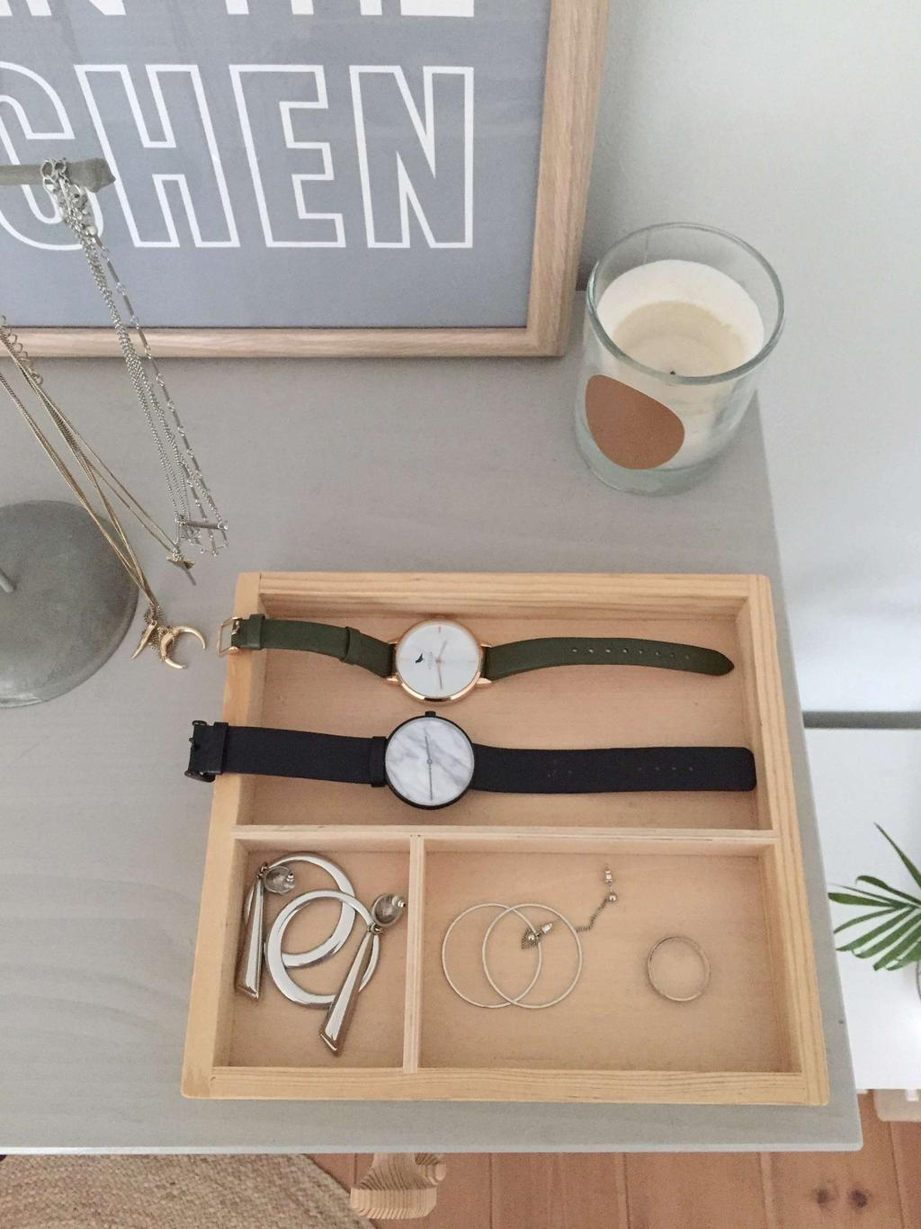Accessoires horloge armbanden kaars Seline Steba