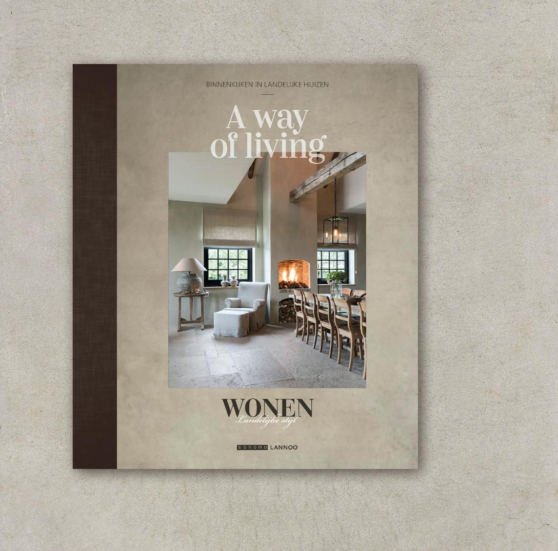 'A way of living', ons nieuwe luxeboek | Wonen Landelijke Stijl