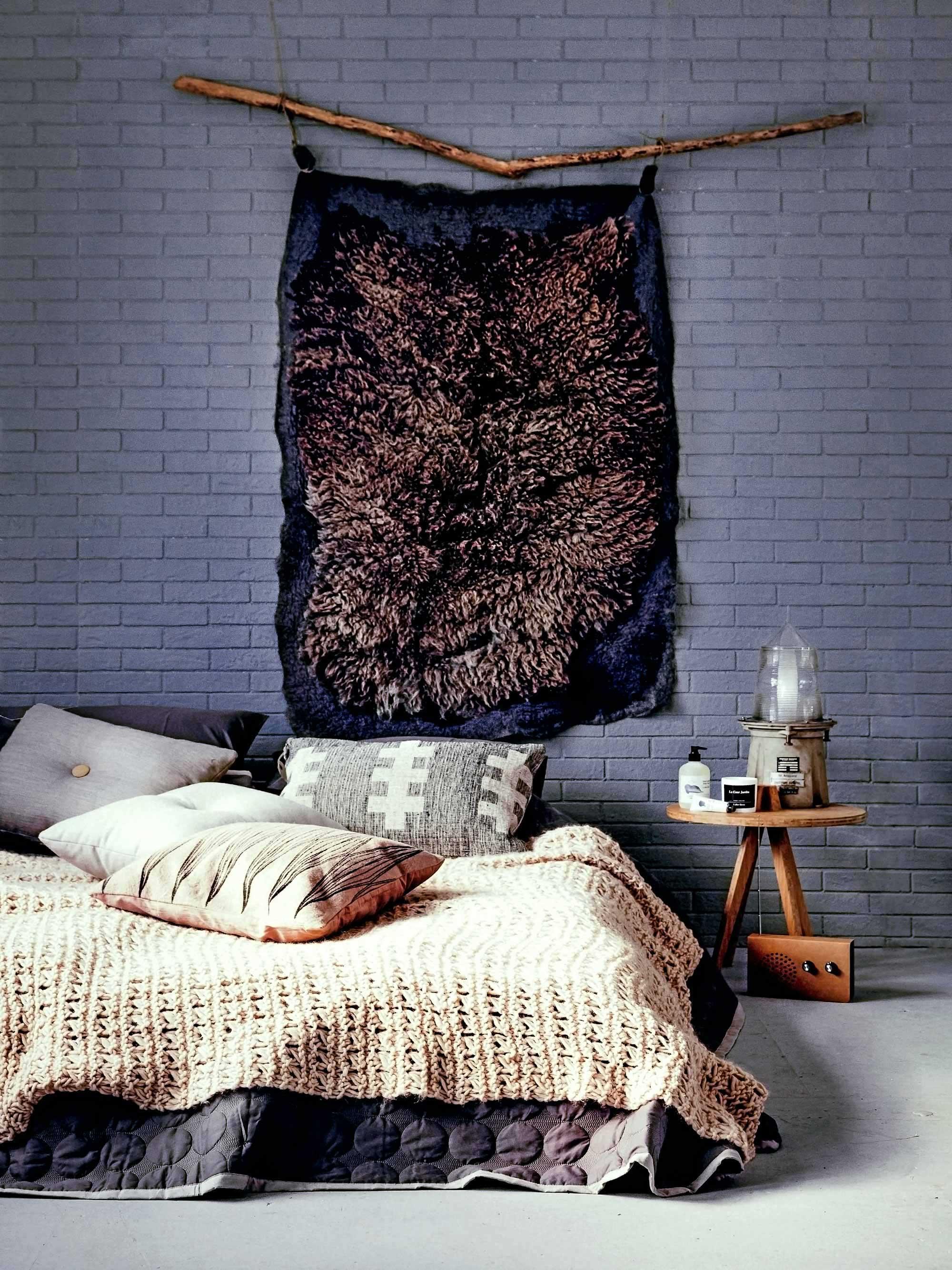landelijk wonen interieur styling slaapkamer