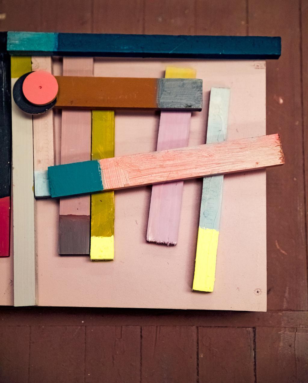 houten kleurstalen