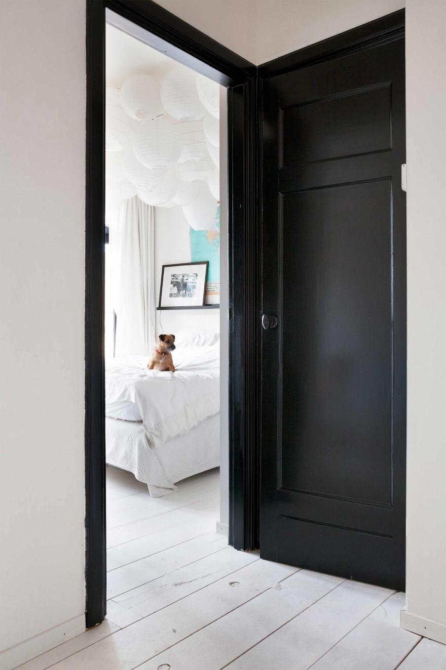 couloir noir blanc