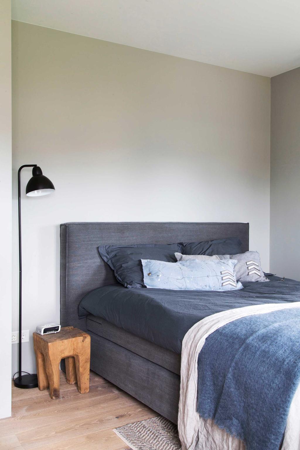rustique et glamour chambre