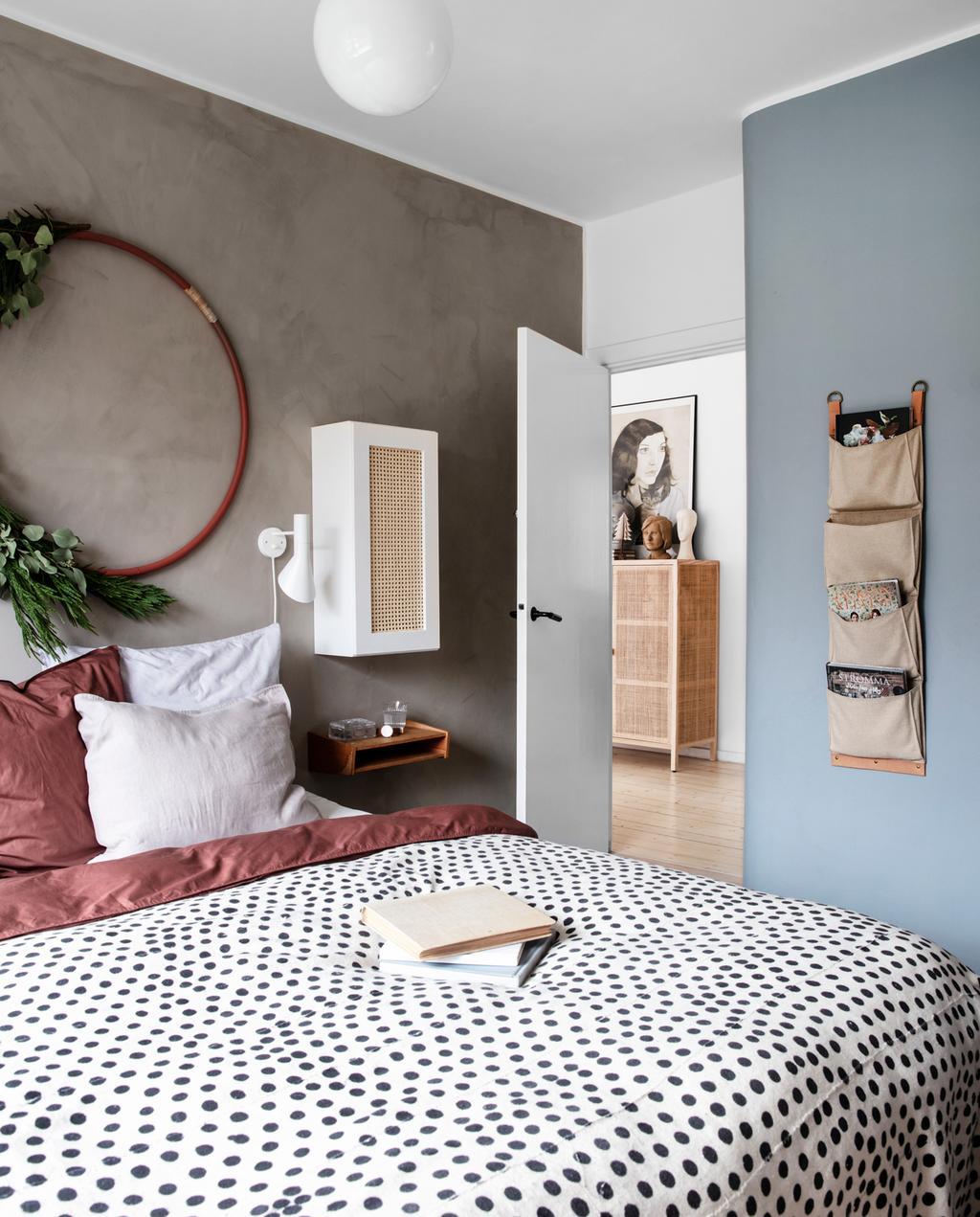 vtwonen 13-2019 | binnenkijken in een bungalow in Kopenhagen slaapkamer