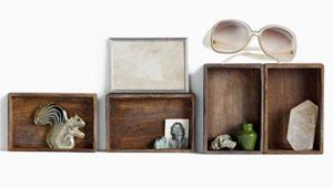 houten doosjes